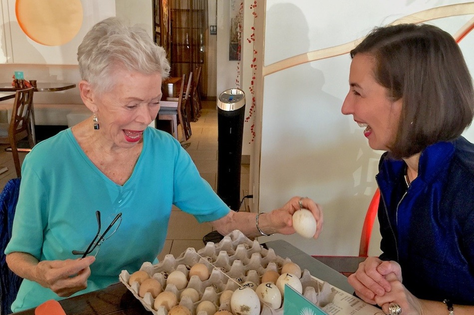 Louise-Hay-Heather-Dane-with-eggs-1024x768